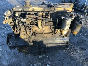 Perkins Diesel At6 3544 Engine 6 3544 Core For Parts Or Rebuilding Block Pump