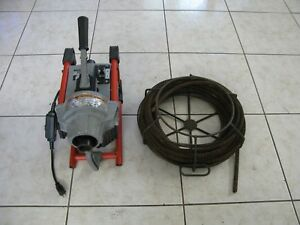 Ridgid K60sp Sectional Drain Cleaning Machine