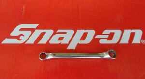 Vintage Snap On Tools 3 8 X 7 16 Dwarf Std Offset Double Box End Wrench Xs1214