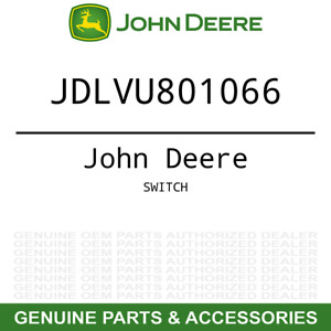 Oem Instrument Panel Dash Switch John Deere 790 3005 4005 Mower Lvu801066