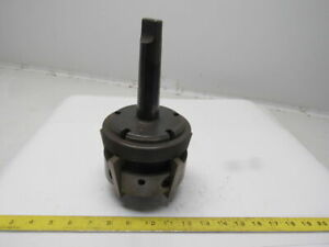 Genesee Mfg 442 a Vintage 5 Blade Insert Id Chamfer Deburring Tool Holder Mt 4