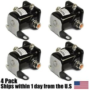 4pk Snow Plow Motor Control Solenoid For Meyer Fisher Diamond 15370 Snowplow