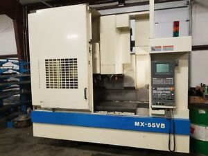 Okuma Mx 55vb Cnc Machining Center Osp u10m