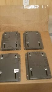 Electric Motor Base 145 Bolt Pattern 5 X 5 5 Lot Of Four Bases