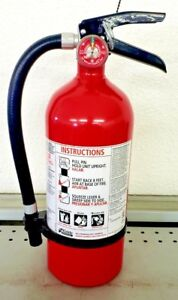 Fire Extinguisher Abc Dry Chemical Kidde Rechargeable