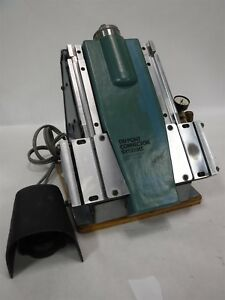 Dupont Connector Systems Model Qp 112 80psi W Foot Pedal Used 1e