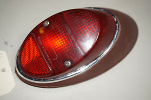 Vw Beetle Left Taillight 1962 1963 1964 1965 1966 1967 111945095n Red Lens