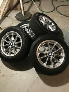 16 Inch Bmw Rims And Winter Tires