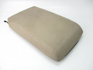 Ford Explorer Mountaineer Center Console Arm Rest Lid Top Pad Cover Tan 2006 10