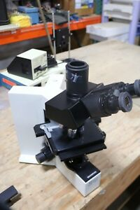 Olympus Microscope Bx40 Loaded Nice