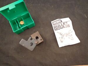 RCBS SINGLE CAVITY CAST BULLET MOLD 50 CAL 400GR SWC FOR 500 S&W W BOX & MANUAL
