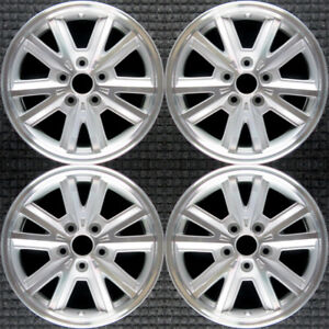 Set 2005 2006 2007 2008 2009 Ford Mustang Oem Machined Silver Wheels Rims 3792