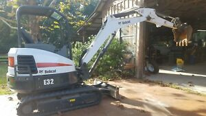 2014 Bobcat E32 Mini Excavator 837 Hours 2 Speed 24hp Diesel Low Hours
