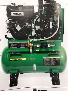 John Deere 30 gallon 2 Stage Diesel Air Compressor ac2 30kds