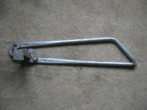 Handy Slotted Angle Cutter Heavy Duty Weighs 15 Pounds 39 Inches Long