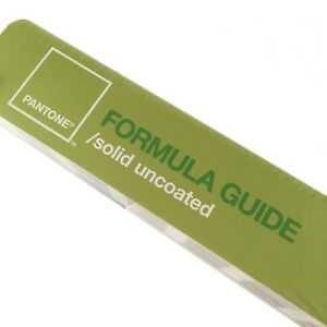 Pantone Formula Guide Solid Uncoated Factory Sealed Matching Reference Tool
