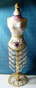 Mannequin Doll Dress Form 18 Stand Craft Miniature Sewing Decor Display Jewelry