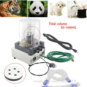 25w Veterinary Anesthesia Ventilator Pneumatic Driving Electronic Controlled Ce
