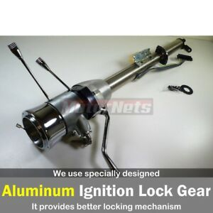 Street Rod Gm Raw 28 Tilt Steering Column Shift With Ignition Key Automatic