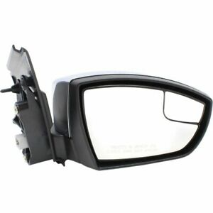 Mirror For 2013 2016 Ford Escape S Se Sel Titanium Right Manual Folding Chrome