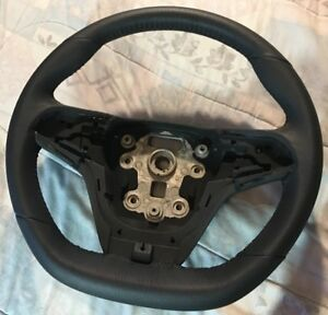 14 17 Chevy Ss Sedan Stock Perforated Leather Wrapped Steering Wheel perfect