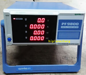 Bench Voltage Current Power Factor Power Analyzer Meter Test Pf9800 Ac220v