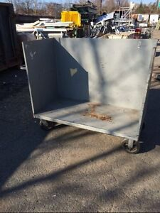 Commercial Utility Cart Steel Stock Bar Restaurant Used Material Handling Cage