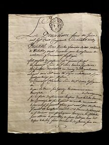 1756 Old Handwritten Document