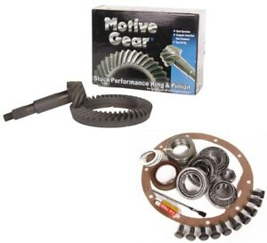 Dodge Ram 2500 Dana 70 U 4 56 Ring And Pinion Master Install Motive Gear Pkg