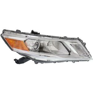Headlight Headlamp Light Right Passenger Fits 2013 2014 2015 Honda Crosstour