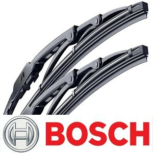 2 Genuine Bosch Direct Connect Wiper Blades Size 26 And 18 Front Left And Right
