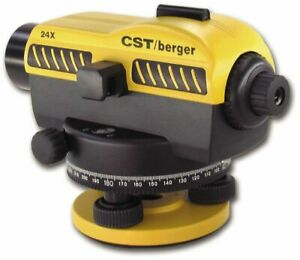 Cst berger 55 sal24nd Exterior Automatic Level 24x Magnification Working
