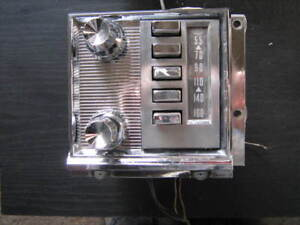 1959 1960 Ford Mercury Radio