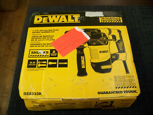 Dewalt 1 1 8 Sds Plus Rotary Hammer Kit D25333k