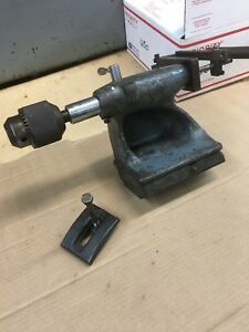 Atlas 10 12 Tail Stock Drilling Attachment Box 1650
