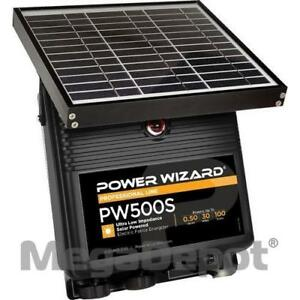 Power Wizard Pw500s 12v Solar Electric Fence Charger 0 5 Joule Output