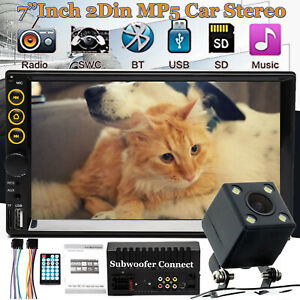 7 Car Stereo Mp5 Player For Ford F150 2004 2008 Radio Bluetooth Usb Aux Camera