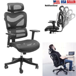 Sieges Modern Office Chair Fabric Mesh High Back Executive Computer Desk Task Us