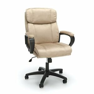 Essentials Executive Chair Mid Back Office Computer Chair Ess 3082 tan