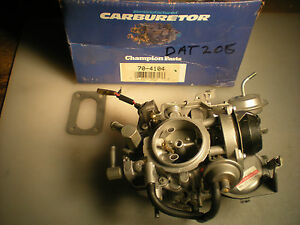 Reman Hitachi Carburetor 1981 Nissan 210 1397cc Engines Manual Trans