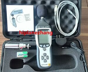 Sound Level Meter Noise Tester Memory 32700 Readings Analog Ac dc Output Usb
