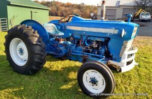 Ford 3000 Farm Tractor 47hp Gas New Tires Ready To Work