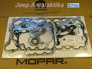 Engine Gasket Kit Jeep Liberty Kk 2 8crd 2008 2010 68032196aa New Oem Mopar