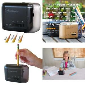 Electric Battery Operated Pencil Sharpener For Home Office School Sharpen