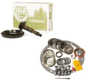 Chevy Dodge Ford 1 ton Dana 80 3 73 Ring And Pinion Timken Master Usa Gear Pkg