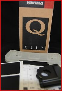 Yakima Q44 Q Tower Clips With Pads Vinyl Pads New In Box Set Of Q44 Clips 0644