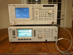 Advantest R3131a Spectrum Analyzer 9 Khz 3 Ghz Agilent Rohde Schwarz Anritsu