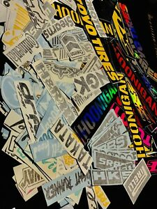 15 Random Automotive Sponsor Stickers Jdm Car Racing Drift Jdm Lot Pack Of 15