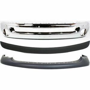 Front Bumper Cover Kit For 2002 2005 Dodge Ram 1500 Sport W Bumper Bumper Trim