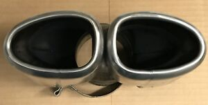 Porsche Boxster Cayman S 987 Oem Dual Exhaust Tip 987 111 254 02 Oem Stainless